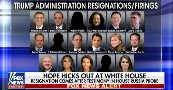 Hope Hicks Resigns