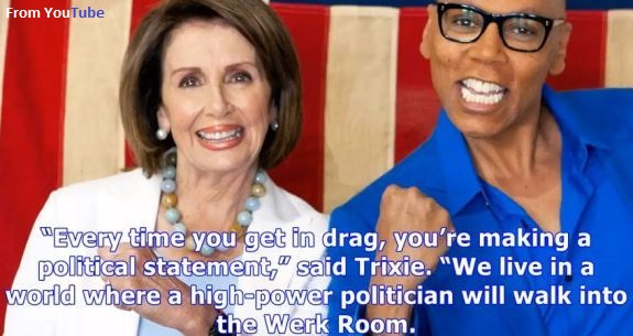 Nancy Pelosi Ru Paul