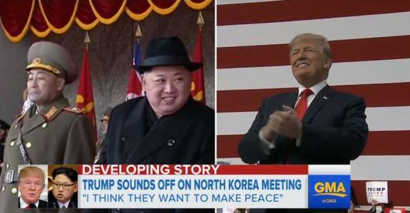 Jong un Trump