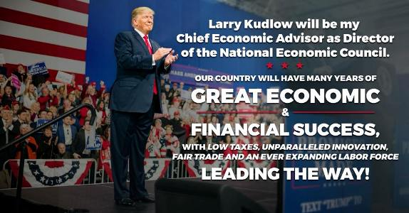 Trump Larry Kudlow