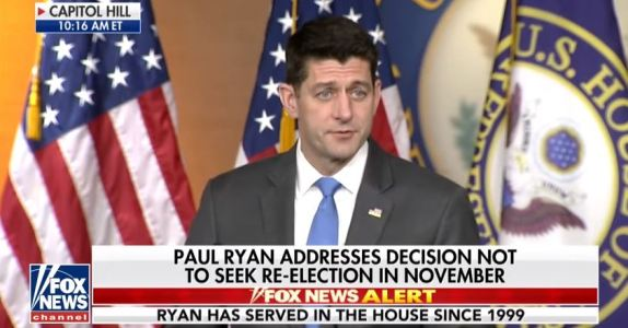 Paul Ryan to retire