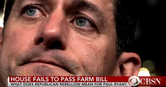 Farm bill Paul Ryan