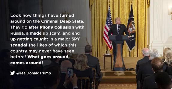 Trump spy scandal