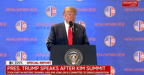 Trump speaks after summit