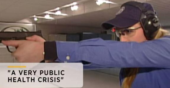 Gun violence a disease