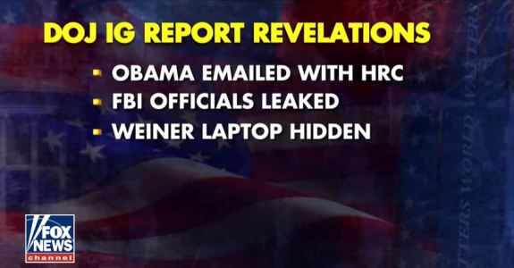 IG Report Obama
