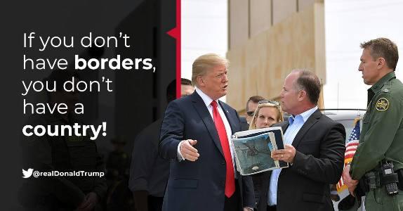 Trump borders