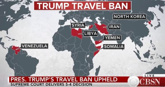 Travel ban upheld