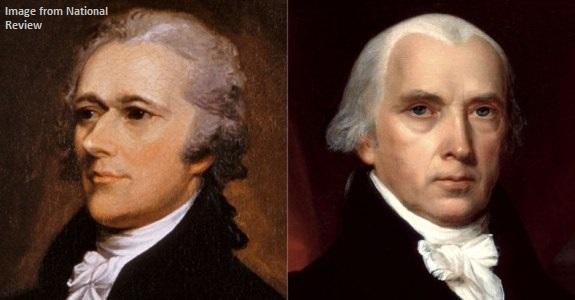 Alexander Hamilton James Madison