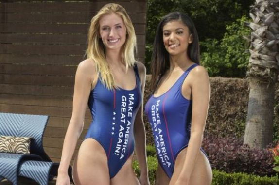 Trump swimsuits