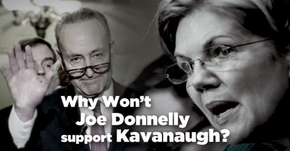 Joe Donnelly Kavanaugh