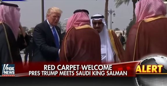 Trump in Saudi Arabia
