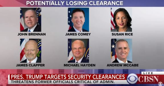 Revoke Clearances