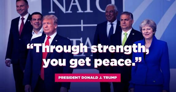 Trump peace through strength