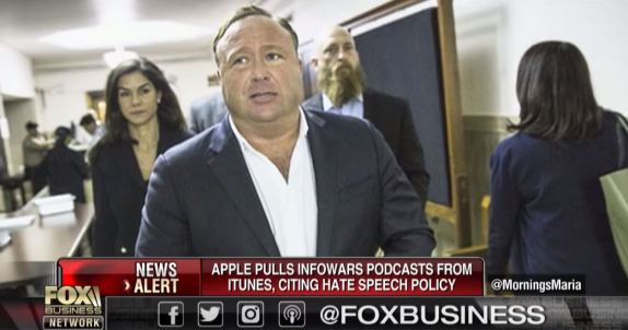 Alex Jones Censorship