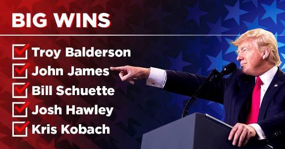 Trump on Wins