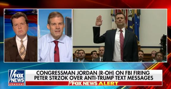 Jordan on Strzok firing