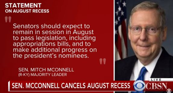 August Recess