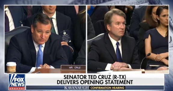 Cruz and Kavanaugh