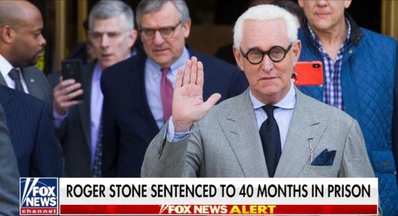Roger Stone sentenced