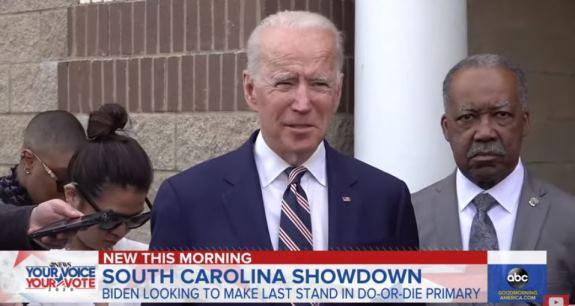 Biden South Carolina
