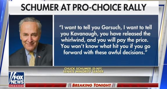 Schumer Comments